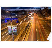 Memorial Drive Twilight Poster