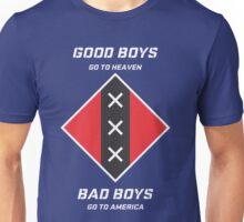 GOOD BOYS AND BAD BOYS Unisex T-Shirt