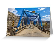 Bridge 9 Greeting Card