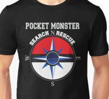 Pocket Monster Search N Rescue Pokemon Go Unisex T-Shirt