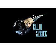 <FINAL FANTASY> Cloud Strife Photographic Print