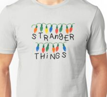 Stranger Things Christmas lights Unisex T-Shirt
