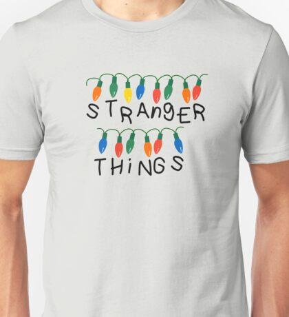 Stranger Things Christmas lights Unisex T-Shirt