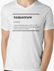 TOMORROW-MOTIVATIONNAL T-Shirt