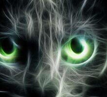 Kitty Cat eyes glow in the Dark Sticker