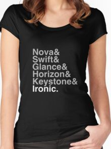 Ironic Women's Fitted Scoop T-Shirt