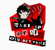 Wake up, Get up, Get Out There! - cutout Unisex T-Shirt