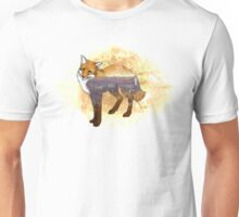 Double Exposure Fox Unisex T-Shirt