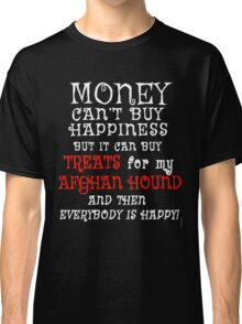 AFGHAN HOUND Funny Dog Humor Classic T-Shirt