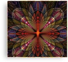 Firefly Orchid Canvas Print