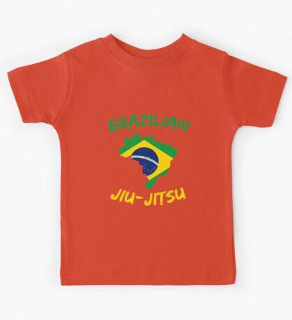 Brazilian Jiu-Jitsu Martial Arts Kids Tee