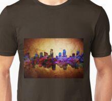 City of Boston in color splash Unisex T-Shirt