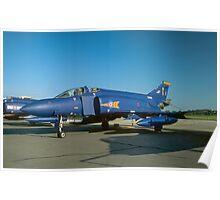 McDonnell F-4M Phantom FGR.2 XV408/Z Poster