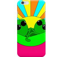 Trippy Peas in a Far Out Pod iPhone Case/Skin