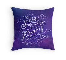 Stars and Dreams Throw Pillow