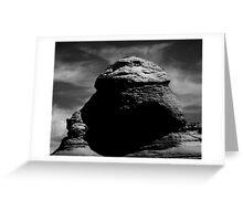 Entrada Sandstone Formations Greeting Card