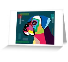 boxer  Greeting Card