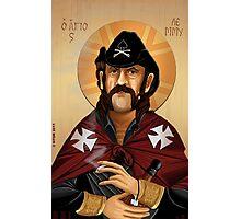 Saint Lemmy Photographic Print