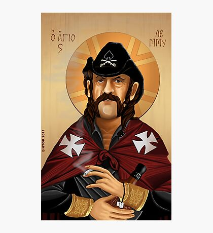 Saint Lemmy Photographic Print