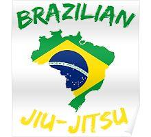 Brazilian Jiu-Jitsu Martial Arts Poster
