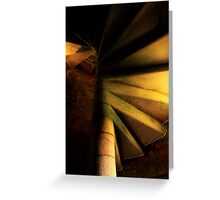 The Staircase to the Sky Greeting Card