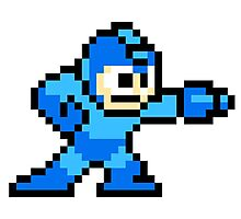 Pixel Hero Sega Photographic Print