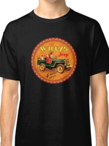 Willys post war Jeep Classic T-Shirt