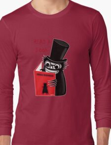 Read a Book with Mr. Babadook Long Sleeve T-Shirt