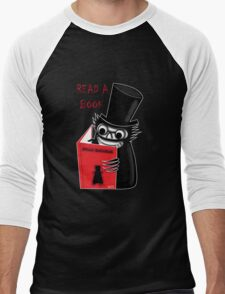 Read a Book with Mr. Babadook Men's Baseball ¾ T-Shirt