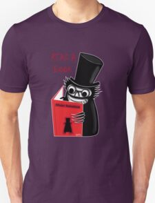 Read a Book with Mr. Babadook Unisex T-Shirt