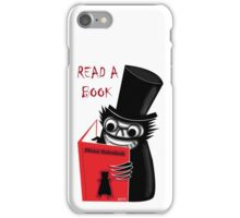 Read a Book with Mr. Babadook iPhone Case/Skin