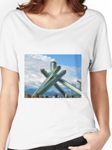Vancouver Olympic Monument  Women's Relaxed Fit T-Shirt