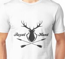 Deer hunting emblem  Unisex T-Shirt