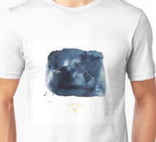 Aquarius Zodiac Constellation Unisex T-Shirt