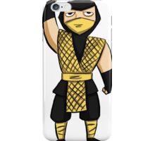Scorpion (MK1) iPhone Case/Skin