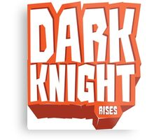Graphic Heroes: Knight Metal Print