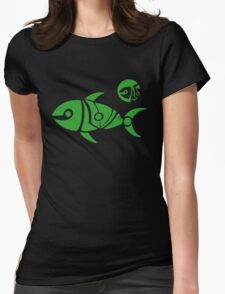 Sushi Sun Womens Fitted T-Shirt