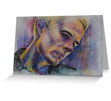 James Marsters Greeting Card