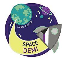 Space Demi Photographic Print