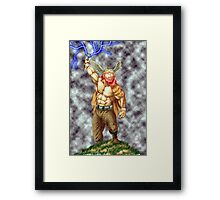 Almighty Thor Framed Print
