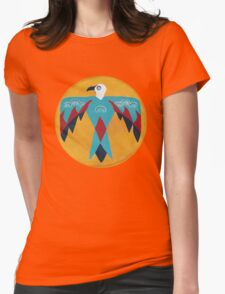 Native American Thunderbird - T-shirt Womens Fitted T-Shirt