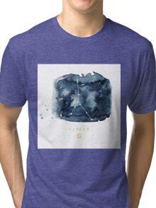 Cancer Zodiac Constellation Tri-blend T-Shirt