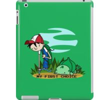 First pokemon plant iPad Case/Skin