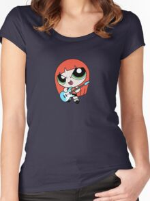 Hayley Williams Paramore Power Puff Women's Fitted Scoop T-Shirt
