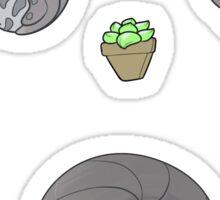 Pillbug Cuties Sticker