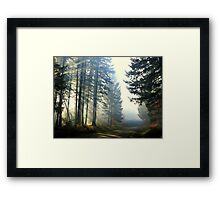 Direct Thy Gaze Within My Soul Framed Print