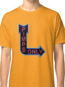 Pimps Only - Kendrick Lamar Classic T-Shirt
