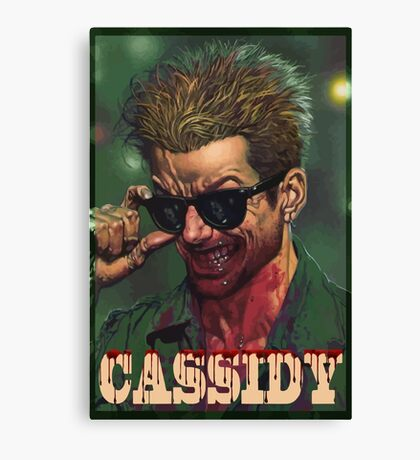 Cassidy from Preacher Canvas Print