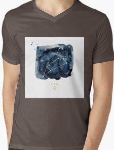 Leo Zodiac Constellation Mens V-Neck T-Shirt