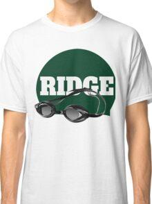 Ridge Swimming Cap and Goggles Classic T-Shirt